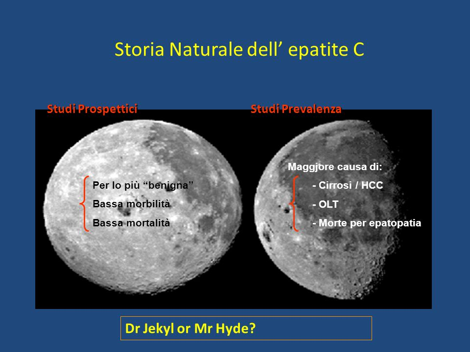Storia Naturale dell' epatite C