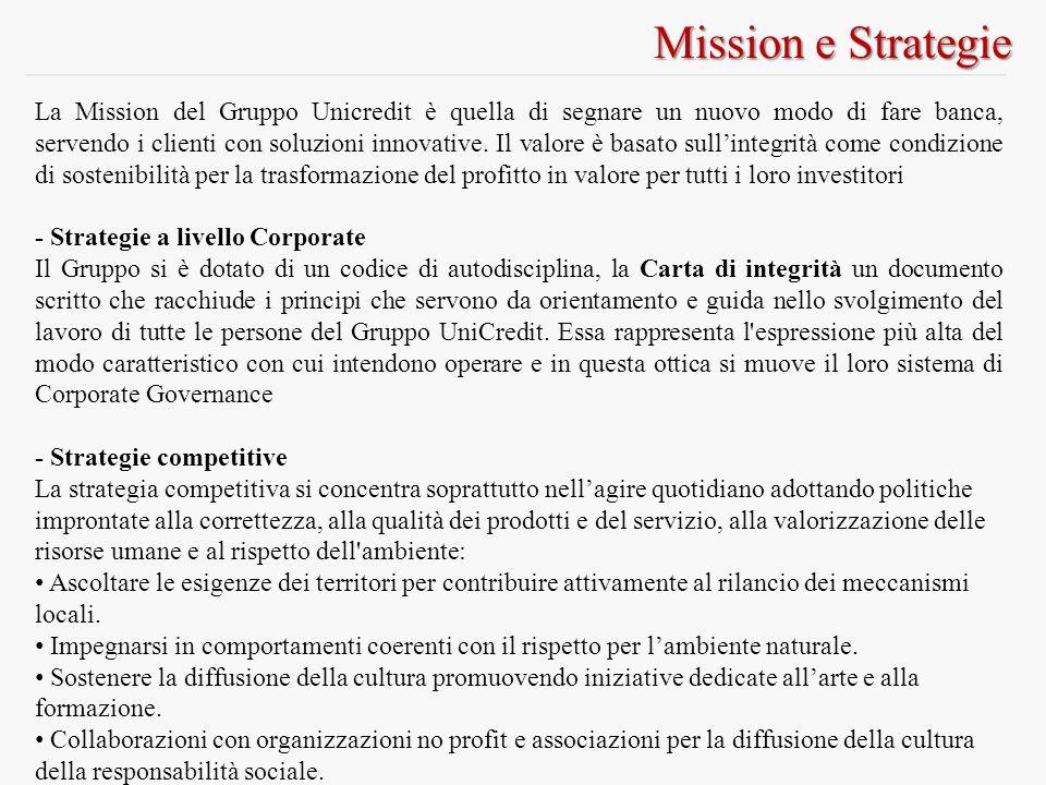 Mission e Strategie