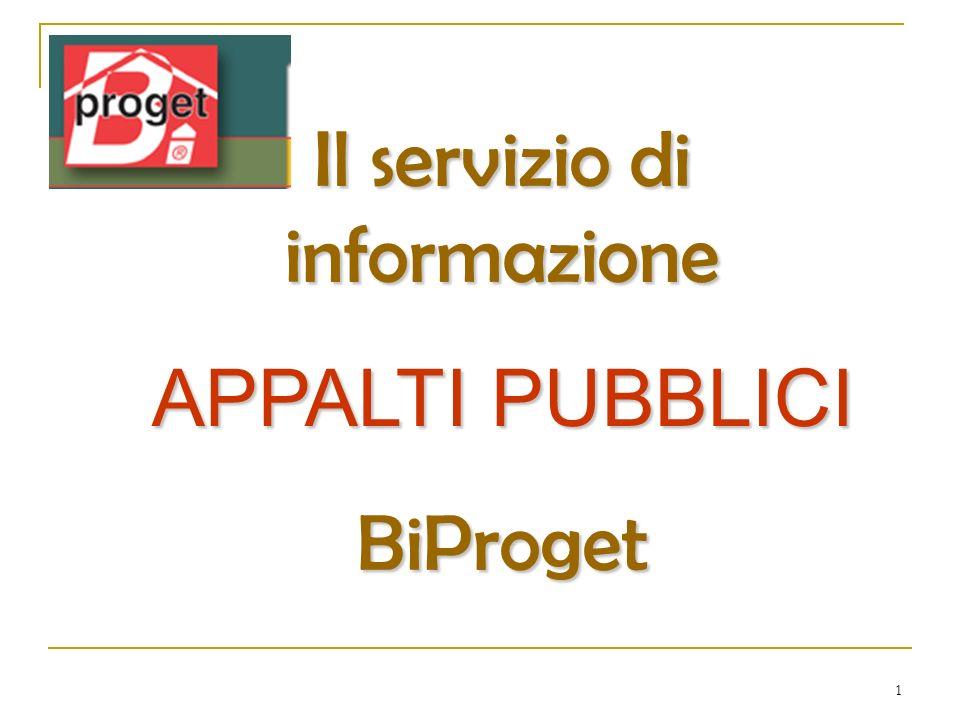 Il servizio di informazione