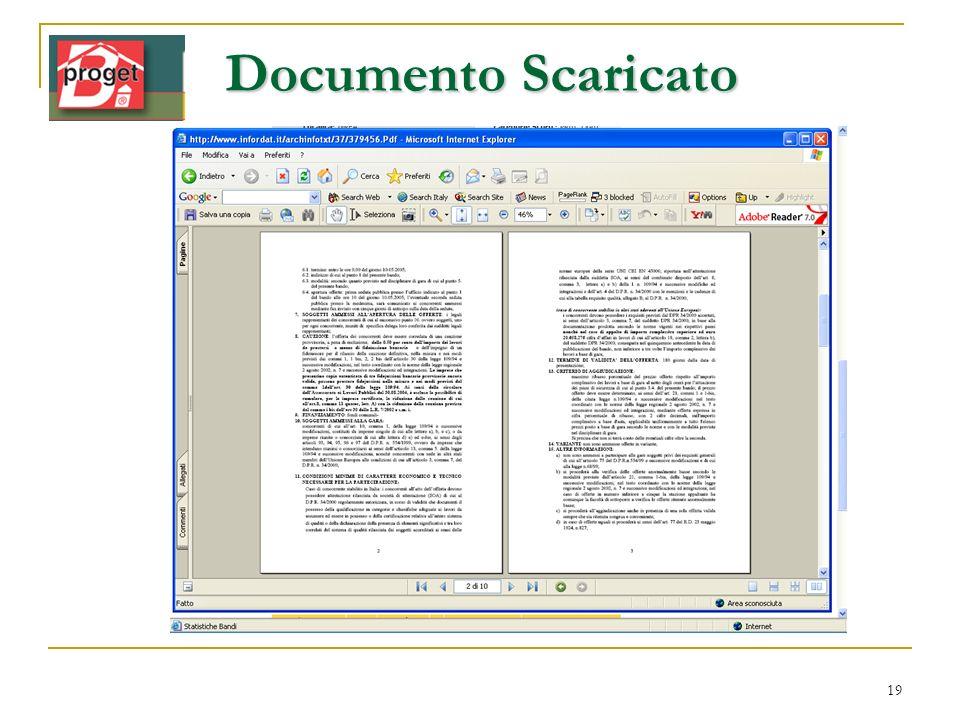 Documento Scaricato