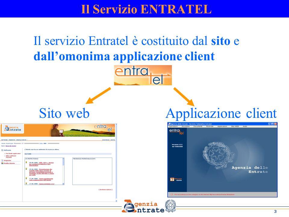 Sito web Applicazione client