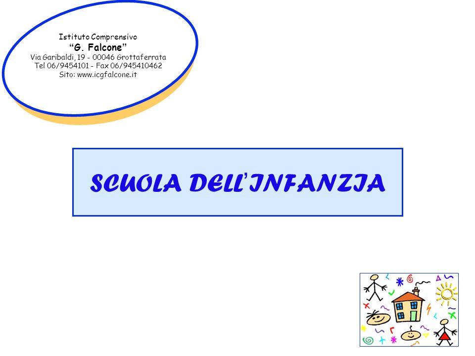 SCUOLA DELL'INFANZIA G. Falcone Istituto Comprensivo