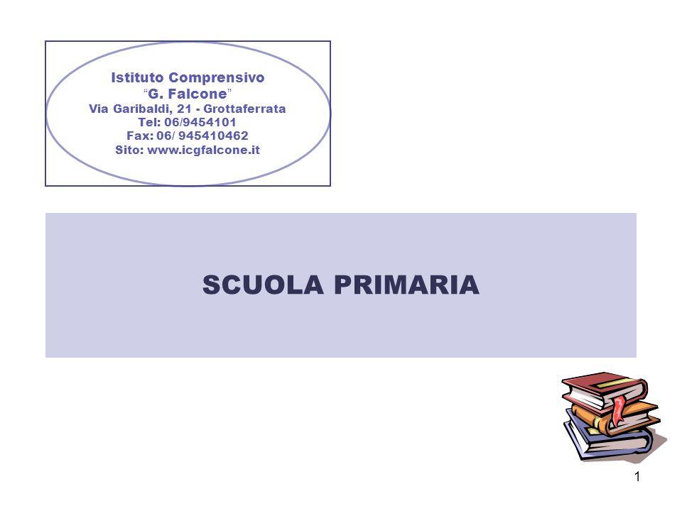 SCUOLA PRIMARIA Istituto Comprensivo G. Falcone