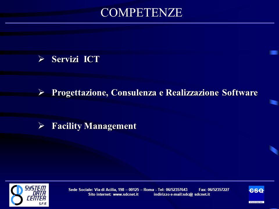 COMPETENZE Servizi ICT