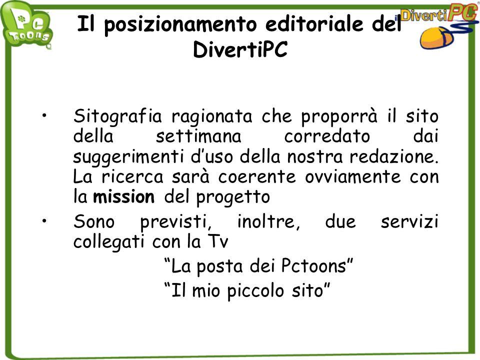 Il posizionamento editoriale del DivertiPC