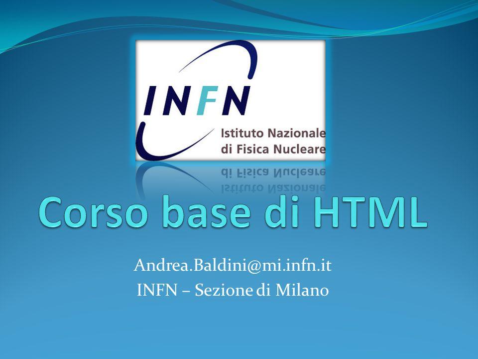 Andrea.Baldini@mi.infn.it INFN – Sezione di Milano