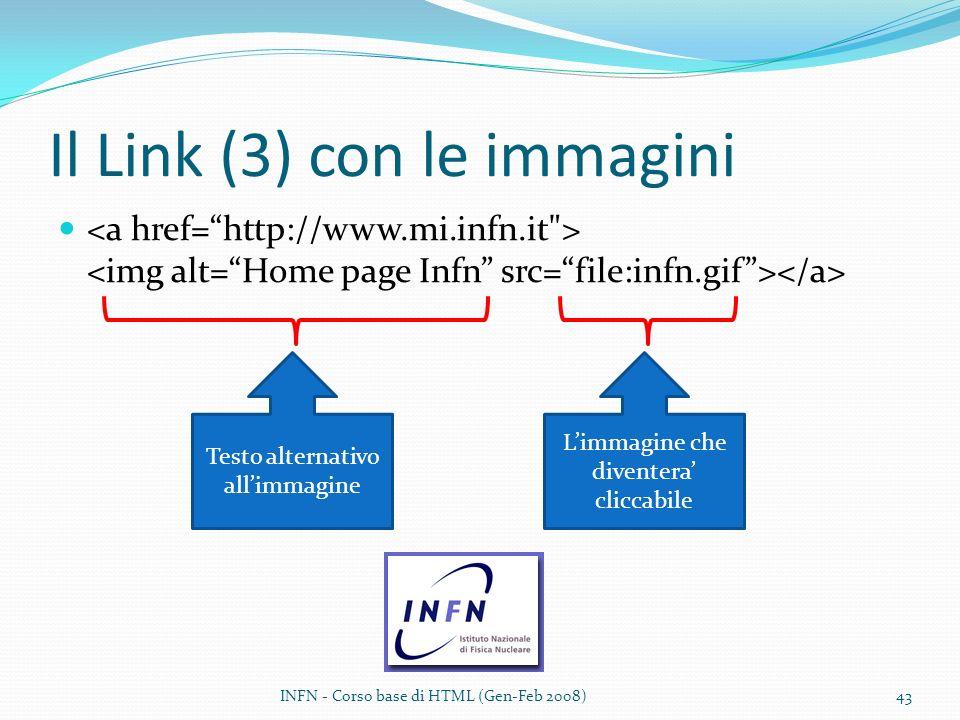 Il Link (3) con le immagini
