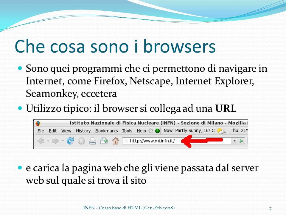 Che cosa sono i browsers