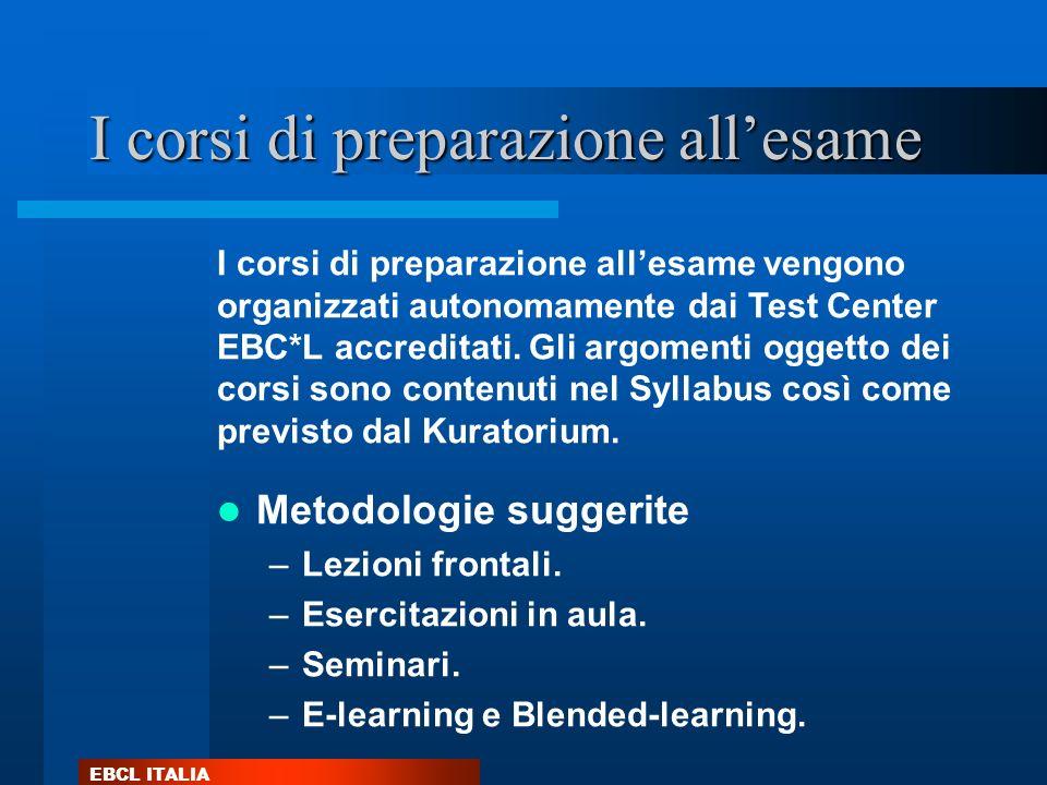 I corsi di preparazione all'esame