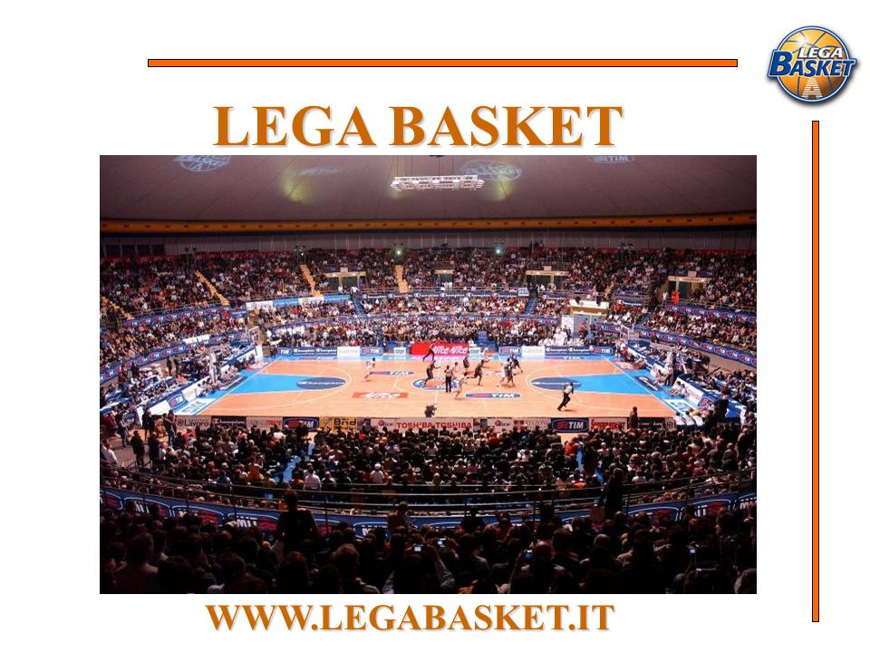 LEGA BASKET WWW.LEGABASKET.IT