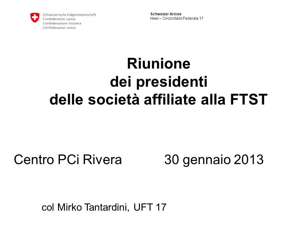 dei presidenti delle società affiliate alla FTST