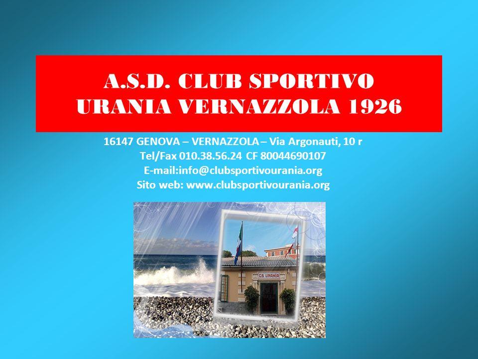 A.S.D. CLUB SPORTIVO URANIA VERNAZZOLA 1926