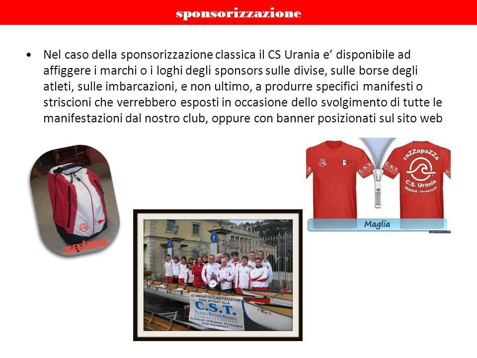 sponsorizzazione