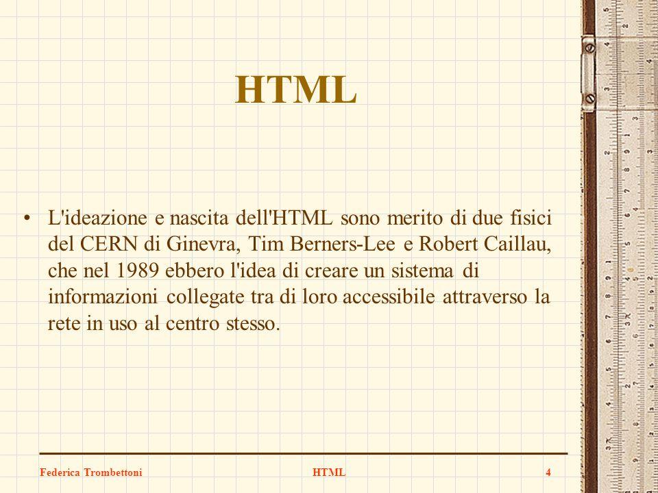 HTML HTML.