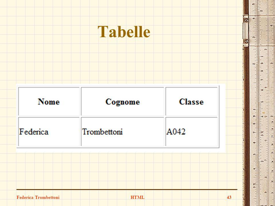 Tabelle Federica Trombettoni HTML 43