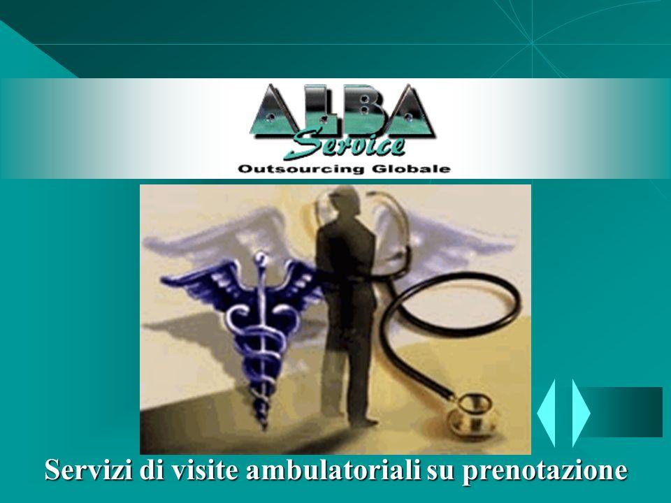 Servizi di visite ambulatoriali su prenotazione