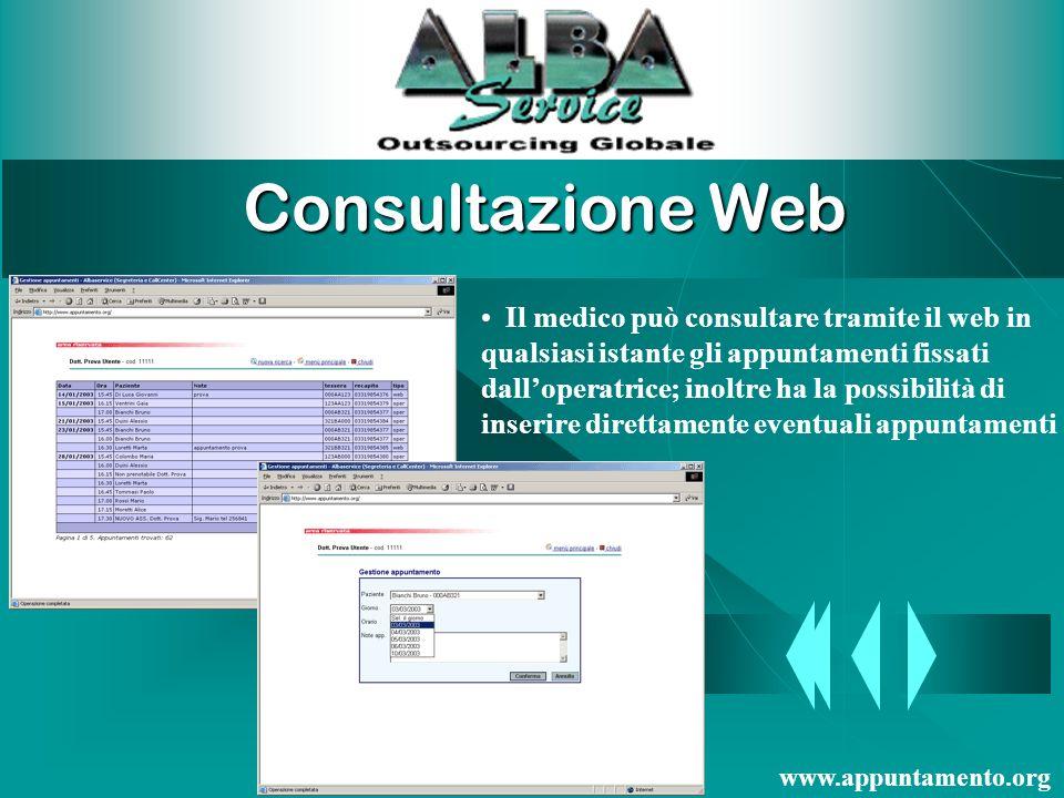 Consultazione Web