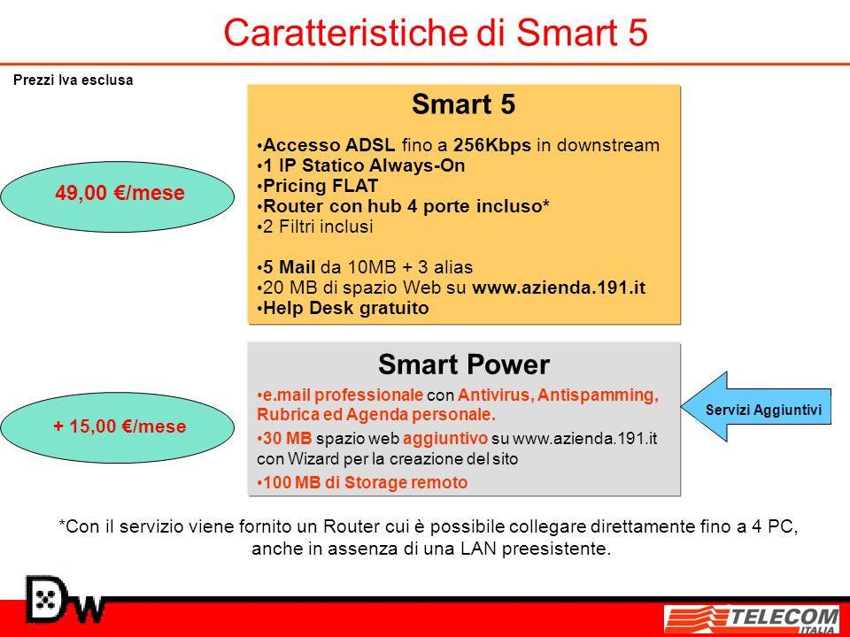 Caratteristiche di Smart 5