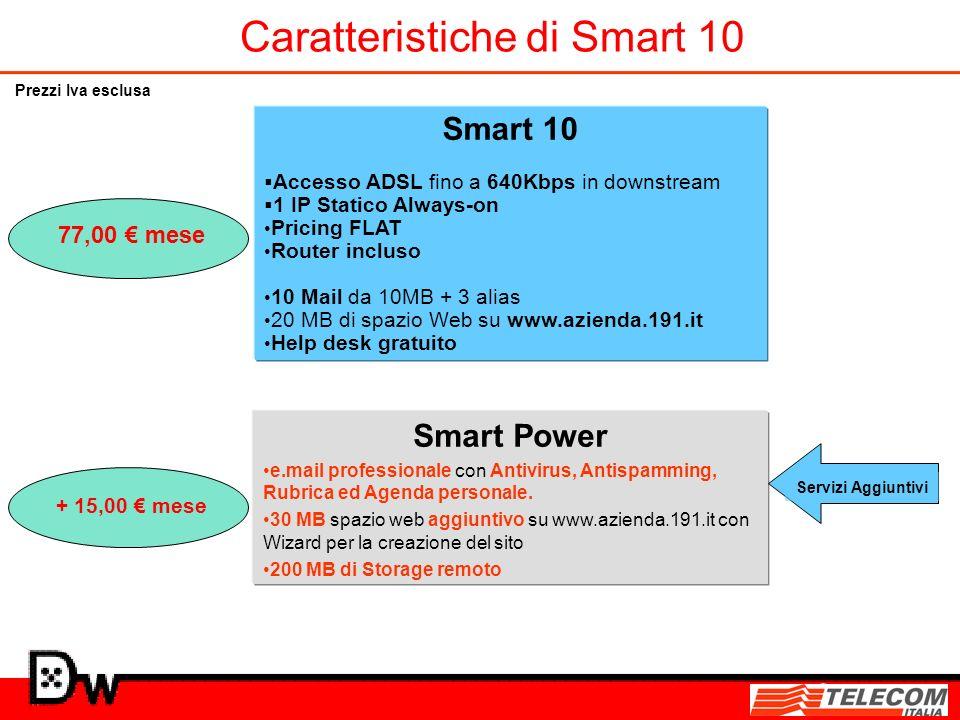 Caratteristiche di Smart 10