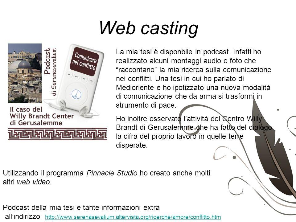 Web casting