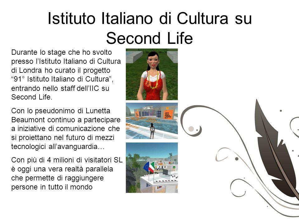 Istituto Italiano di Cultura su Second Life