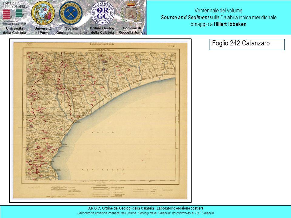 Ventennale del volume Source and Sediment sulla Calabria ionica meridionale omaggio a Hillert Ibbeken