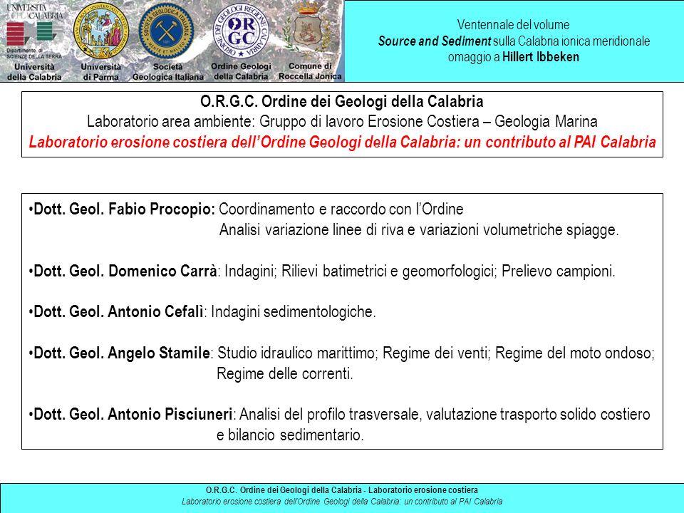 O.R.G.C. Ordine dei Geologi della Calabria