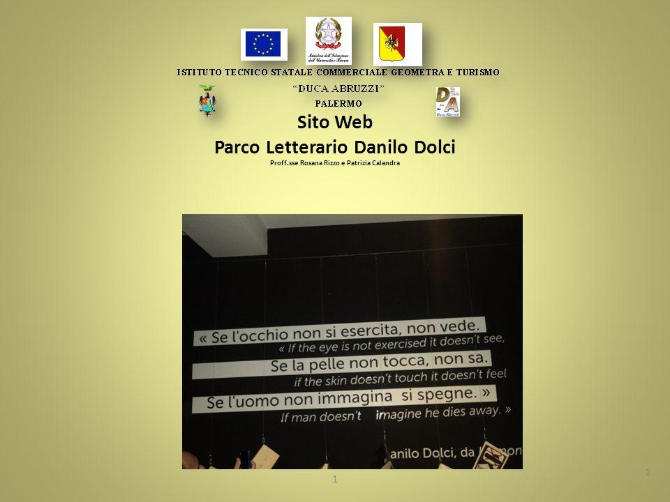 Sito Web Parco Letterario Danilo Dolci Proff