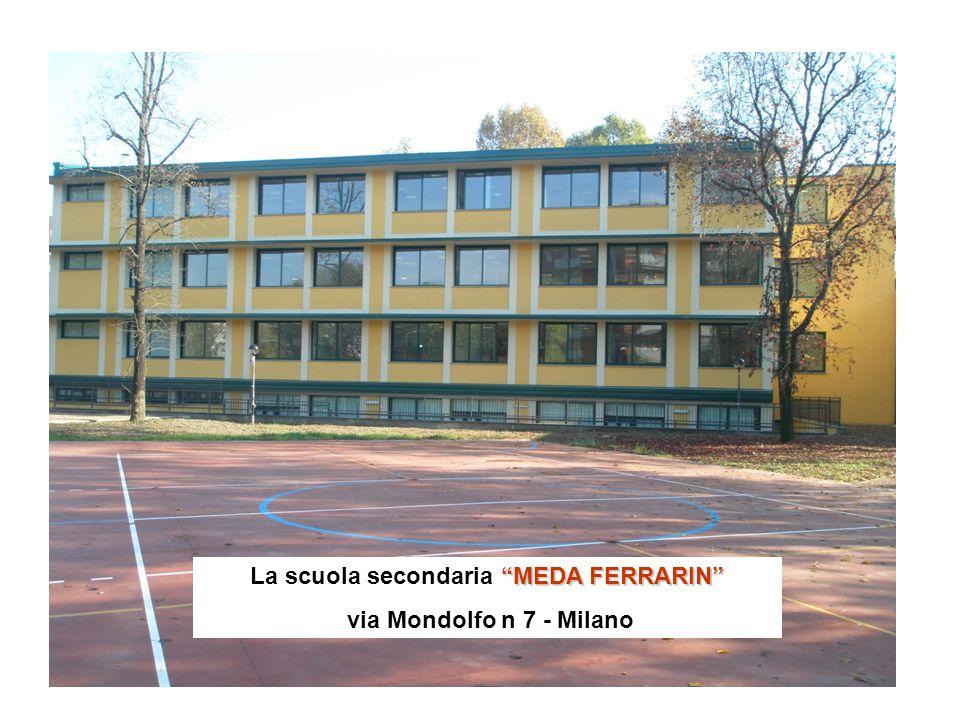 La scuola secondaria MEDA FERRARIN
