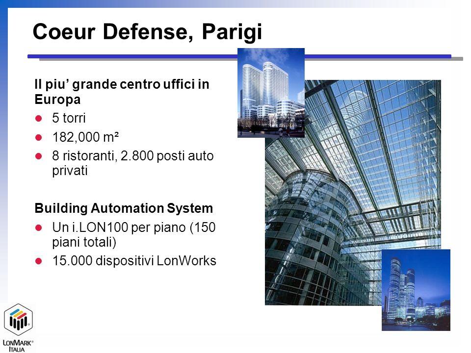 Coeur Defense, Parigi Il piu' grande centro uffici in Europa 5 torri