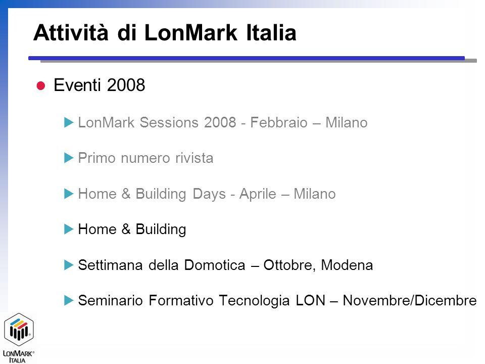 Attività di LonMark Italia