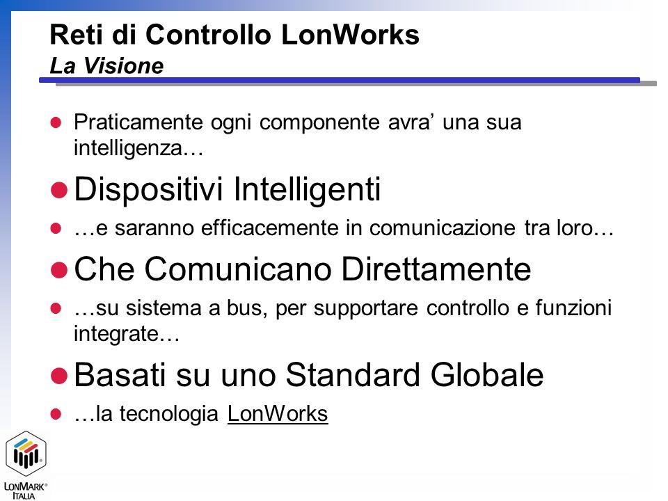 Reti di Controllo LonWorks La Visione