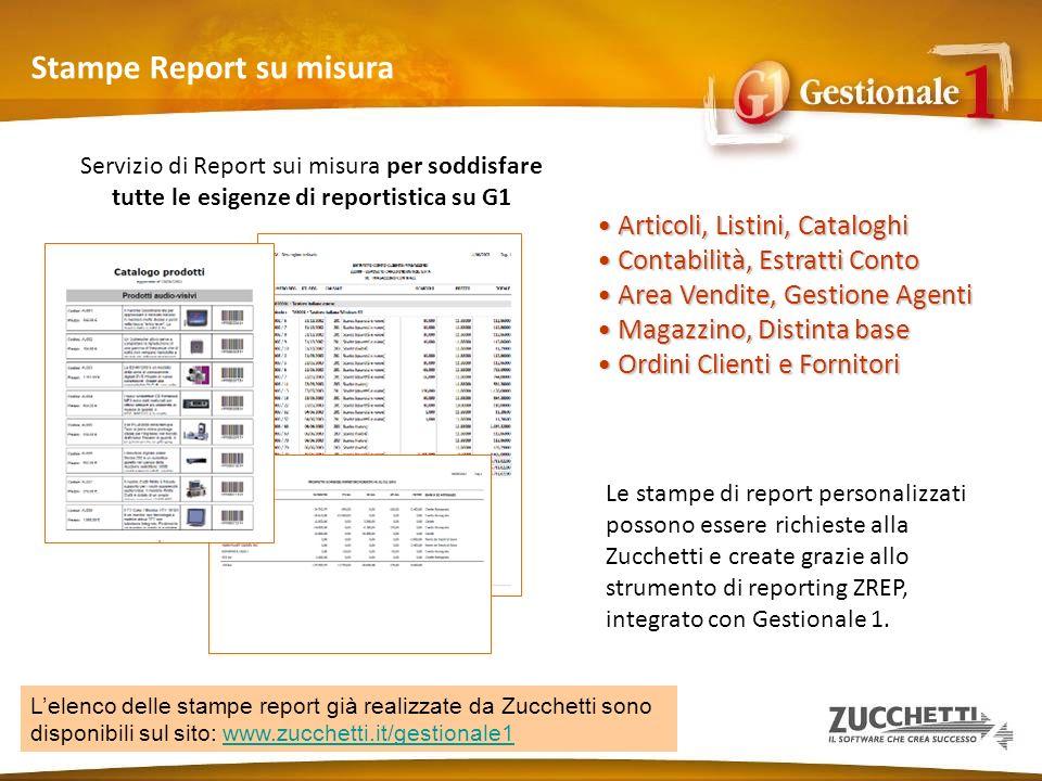 Stampe Report su misura