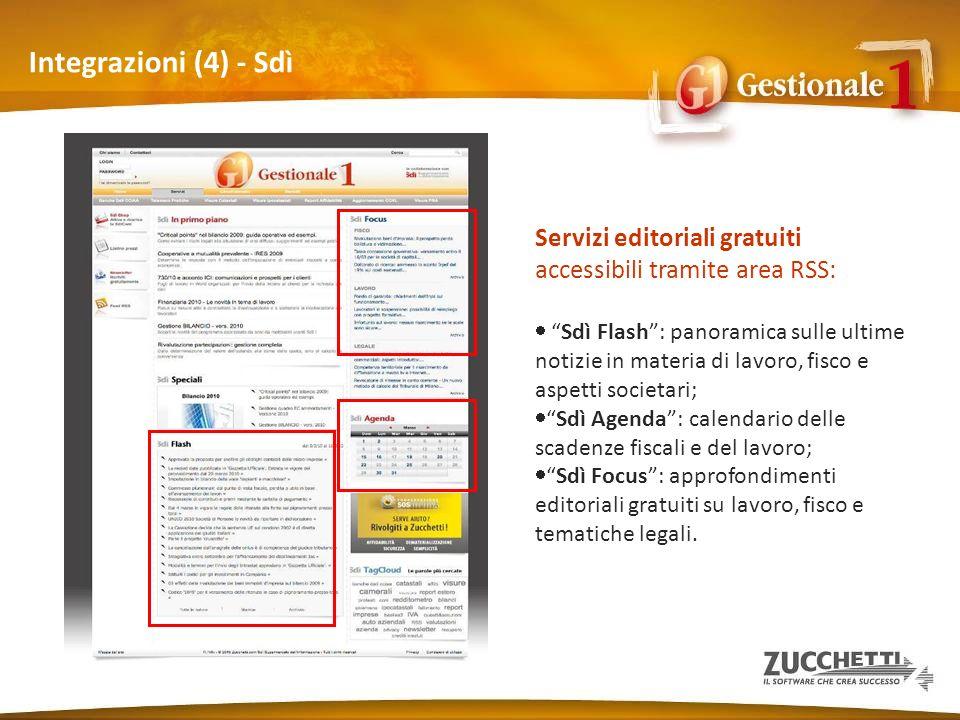Integrazioni (4) - Sdì Servizi editoriali gratuiti