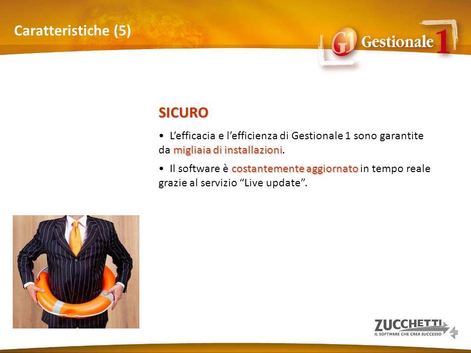 Caratteristiche (5) SICURO
