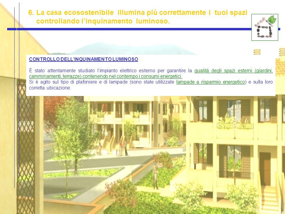 6. La casa ecosostenibile illumina più correttamente i tuoi spazi