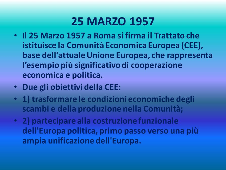 25 MARZO 1957