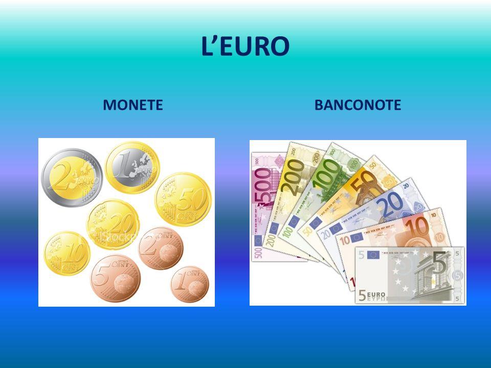 L'EURO MONETE BANCONOTE