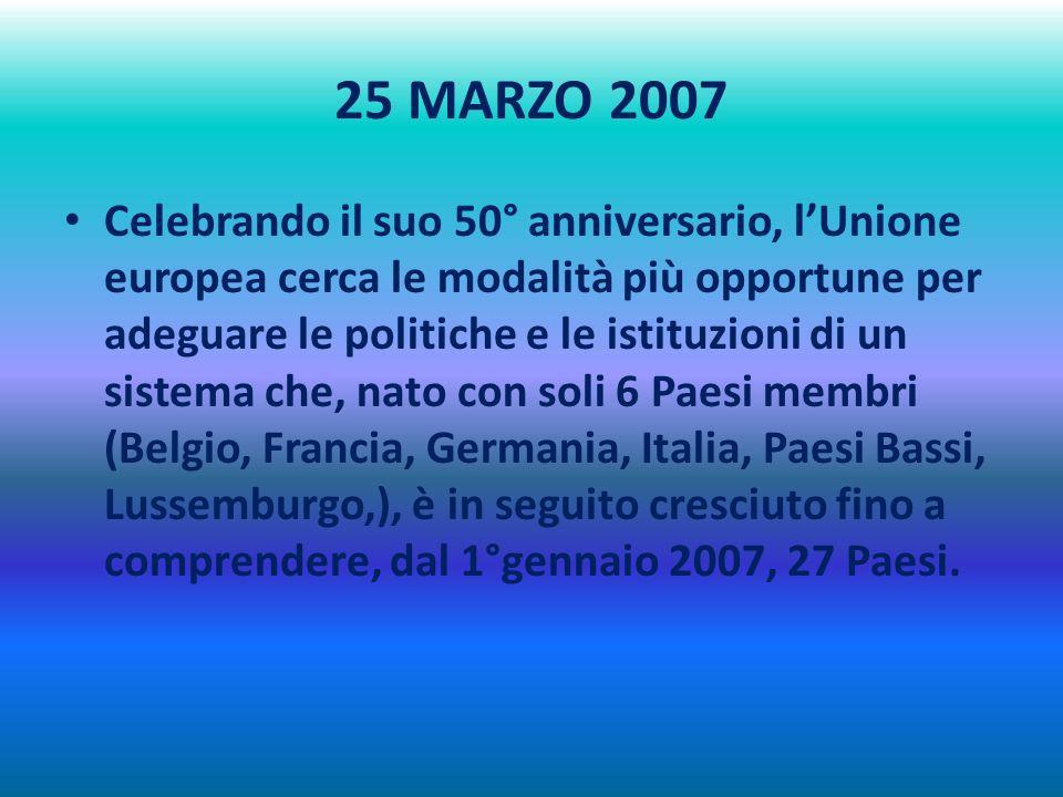 25 MARZO 2007