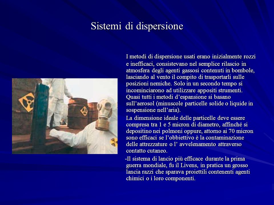 Sistemi di dispersione
