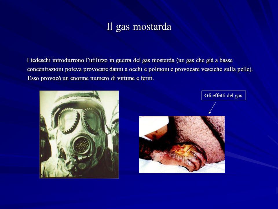 Il gas mostarda