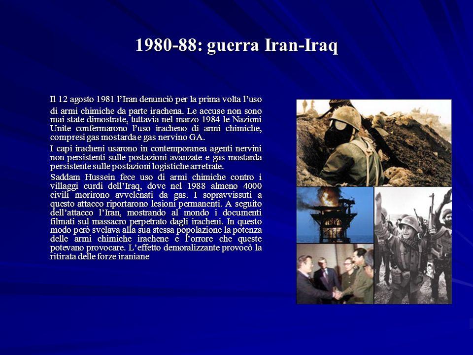 1980-88: guerra Iran-Iraq