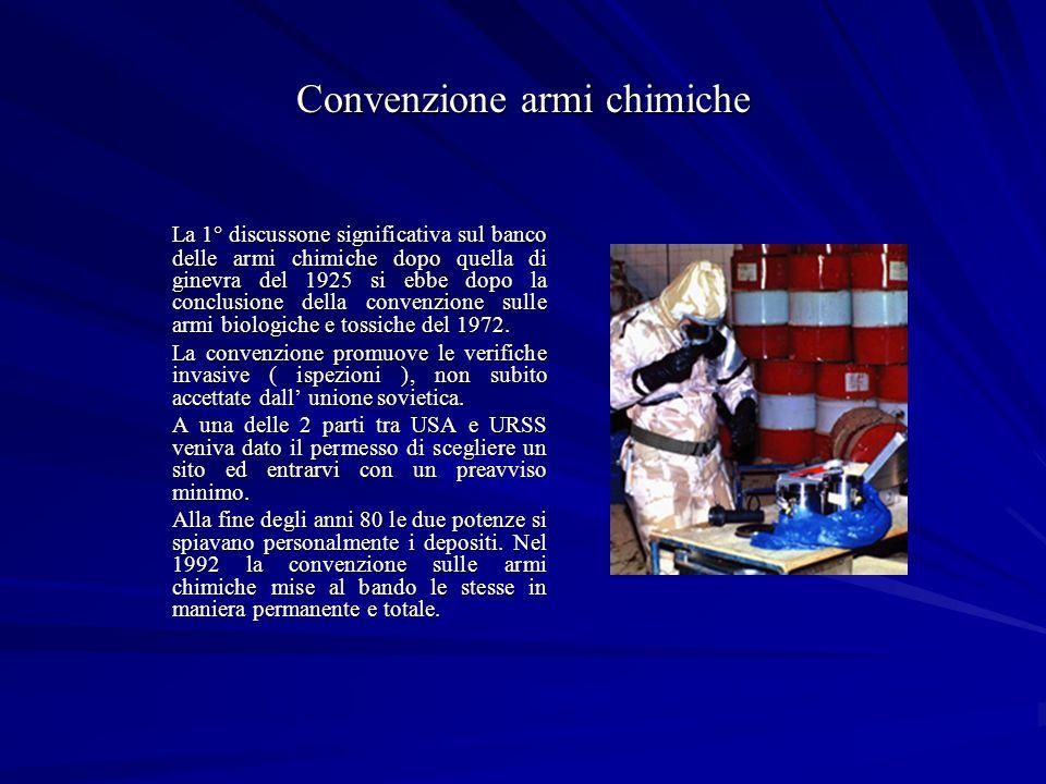 Convenzione armi chimiche