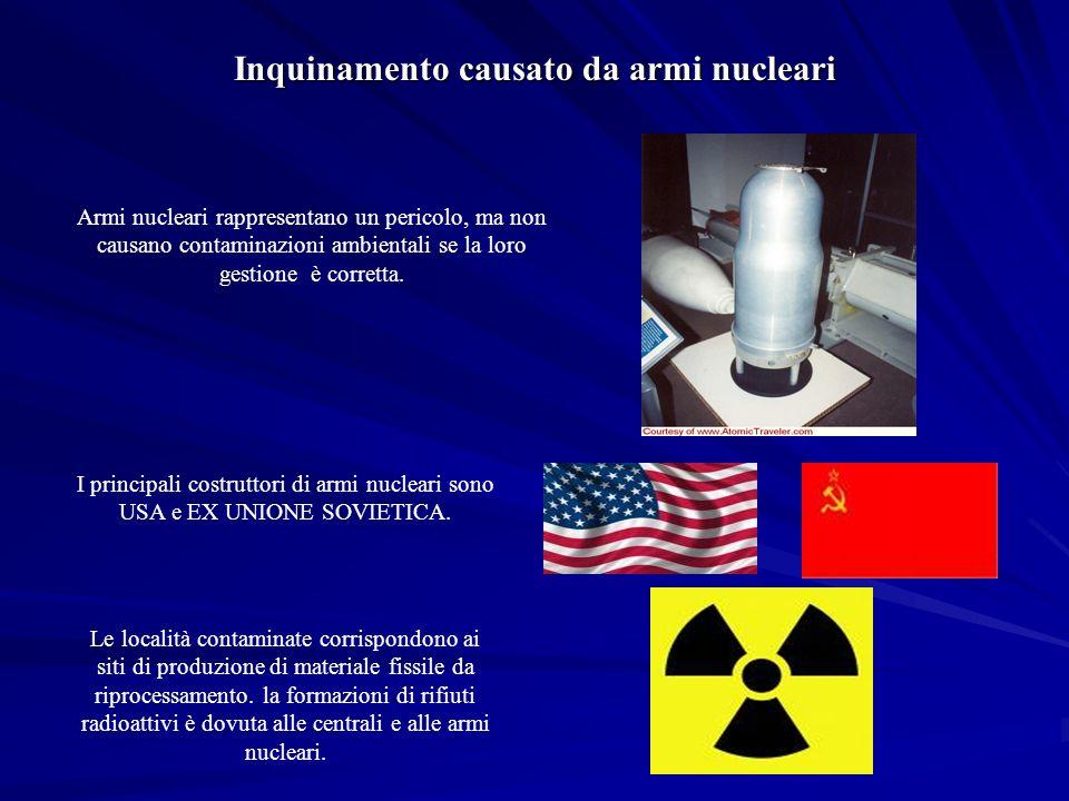 Inquinamento causato da armi nucleari