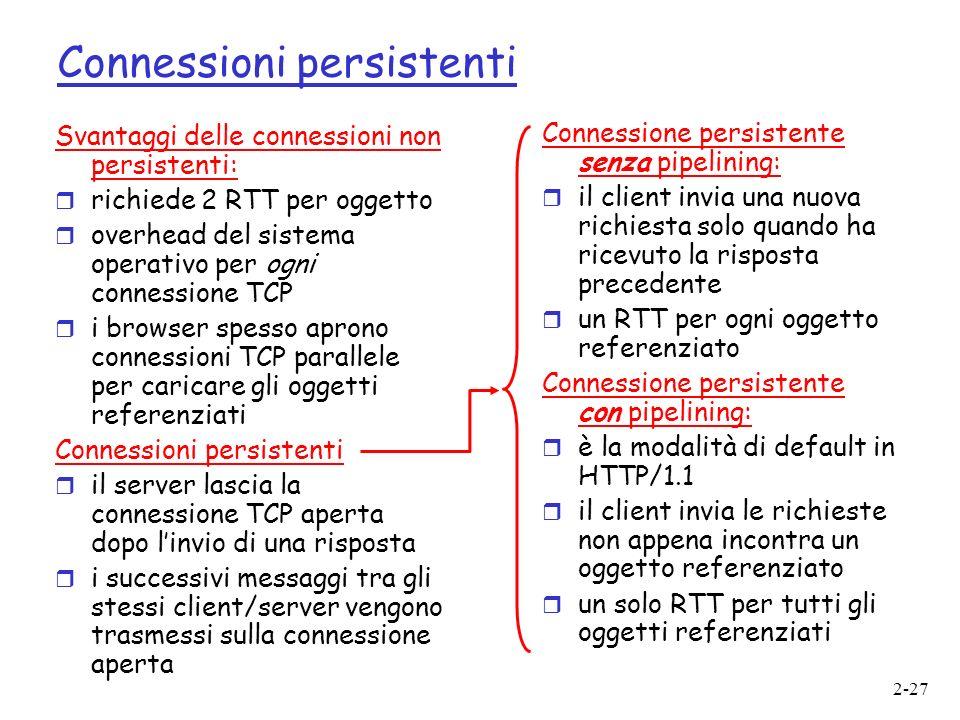 Connessioni persistenti