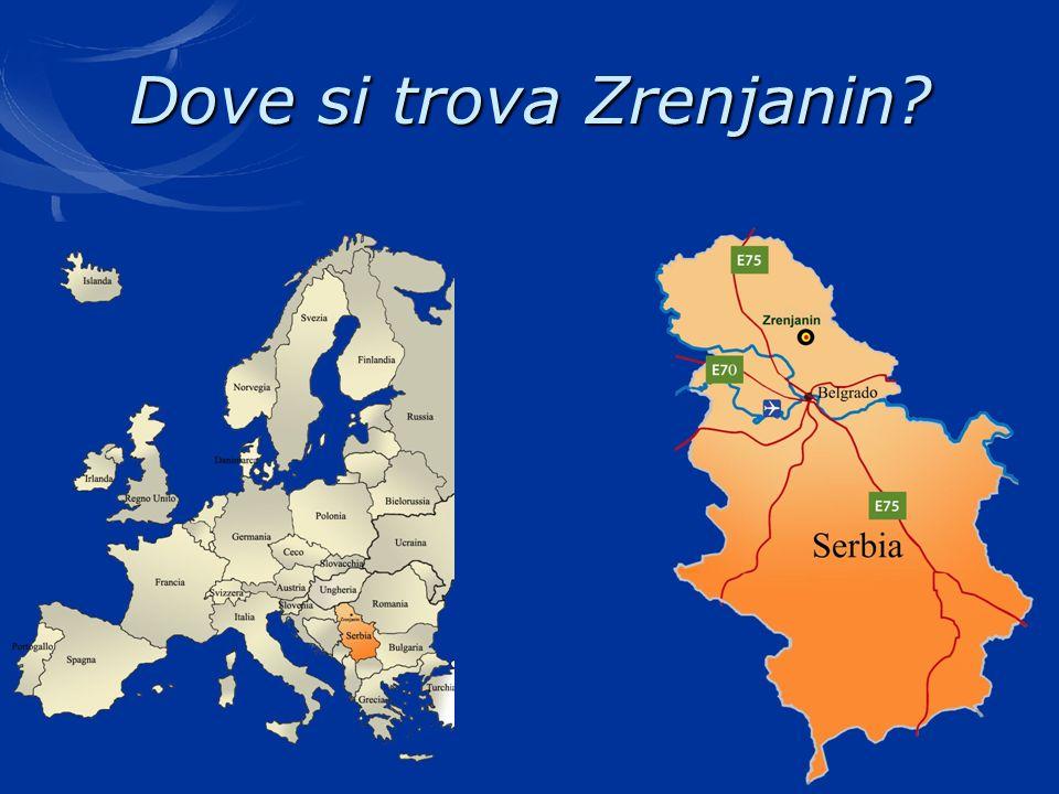 Dove si trova Zrenjanin