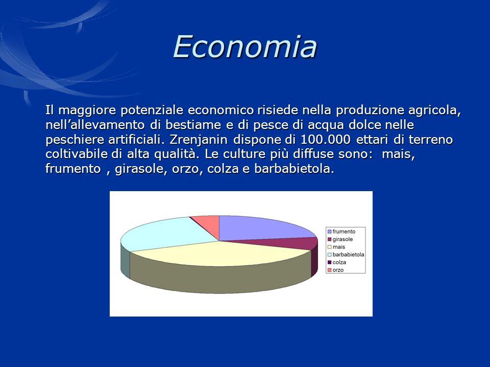 Economia Il maggiore potenziale economico risiede nella produzione agricola, nell'allevamento di bestiame e di pesce di acqua dolce nelle.