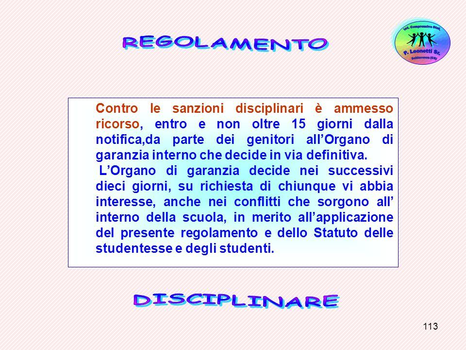 Ist. Comprensivo Stat.Schiavonea (CS) P. Leonetti Sr. REGOLAMENTO.