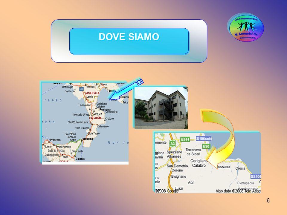 Ist. Comprensivo Stat. Schiavonea (CS) P. Leonetti Sr. DOVE SIAMO