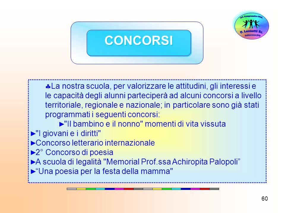 Ist. Comprensivo Stat. Schiavonea (CS) P. Leonetti Sr. CONCORSI.